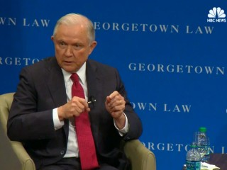 Sessions Defends Trump, Says NFL Players 'Can Expect To Be Condemned'