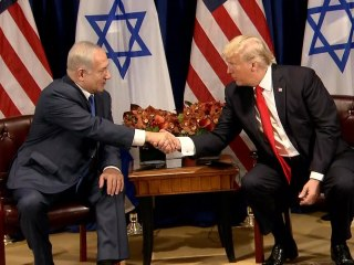 Trump to Netanyahu at U.N.: 'Good Chance' for Peace Deal