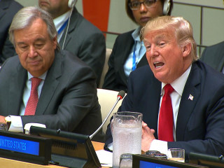 Trump Opens U.N. Reform Meeting With Call for Burden-Sharing
