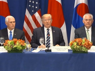 Trump Announces Expanded N. Korea Sanctions: Tolerance 'Must End Now'
