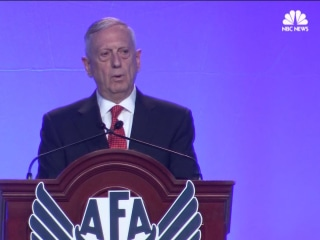 Mattis on North Korea: 'Military Options Must Be Available'