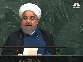 Iranian Leader Takes Aim at 'Rogue Newcomer' Trump in U.N. Address