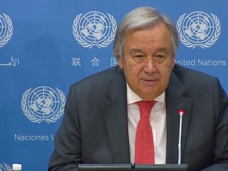 UN Chief Responds to Rohingya 'Ethnic Cleansing' Question