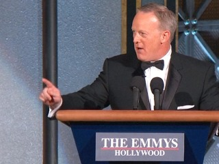 Sean Spicer Surprises Emmys Audience