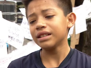 Boy Describes How He Survived His School Collapsing During Mexico Earthquake