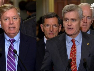 Graham, Cassidy Push for State-Based Obamacare Repeal Bill