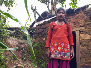 Nepalese Women Forced Into Huts During Menstruation