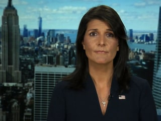 U.N. Ambassador Nikki Haley: Trump's speech was 'firm response' to Kim Jong Un