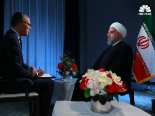 Full Interview: Iran's President Says 'No One Will Trust America Again' if Trump Ends Nuclear Deal