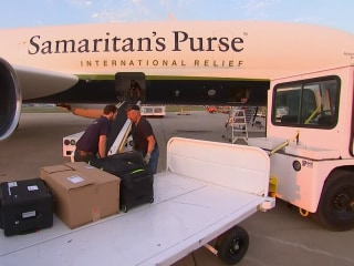 Rare Look on First Relief Flight to Hurricane Ravaged Puerto Rico
