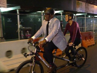 Watch Al Roker Give Megyn Kelly a Lift to Her New Job (on a Bike!)