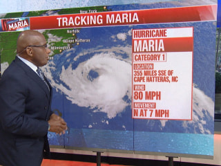 Hurricane Maria could impact East Coast of US