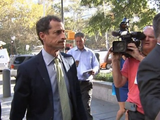 Anthony Weiner sentenced to 21 months in prison for teen sexting scandal