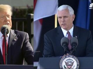 Trump, Pence Speak at Ceremonies Marking 9/11 Anniversary