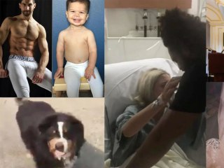 Our favorite videos of the week: newlyweds adopt a stray dog, a mom spoofs her brother's model pics, Hoda Kotb's Mother of the Year Award and a touching hospital reunion