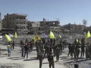 Raqqa Recaptured From ISIS by U.S. Backed Militias