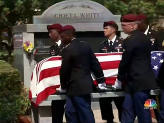 Niger Ambush: Funeral Held for Sgt. La David Johnson