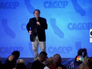 Steve Bannon Attacks Bush for Anti-Trump Speech