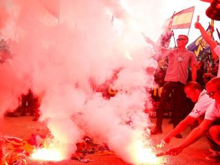 Violence Mars Spain's National Day in Barcelona
