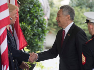 Watch Live: Trump, Singapore's Prime Minister Speak From White House