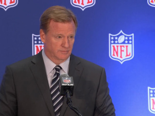 NFL Commissioner: We Believe Everyone Should Stand During Anthem