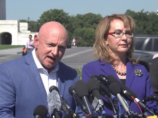 Mark Kelly, Gabby Giffords: We Need Trump's Plans More Than His Prayers