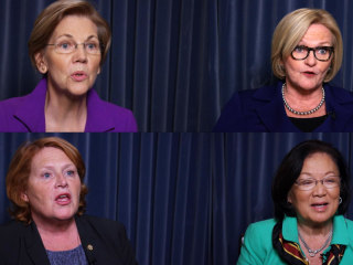 Women senators say #MeToo, reveal stories of sexual harassment