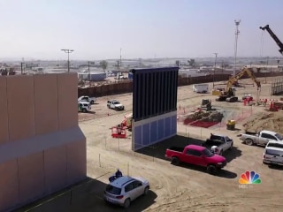 Border Wall Prototypes are Being Built on Mexican Border