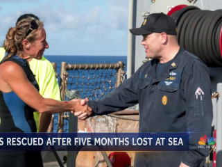 Dramatic Rescue: Navy Saves Two Americans Lost at Sea for Months