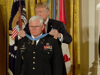 Trump Awards Medal of Honor to Vietnam Army Medic Gary Rose