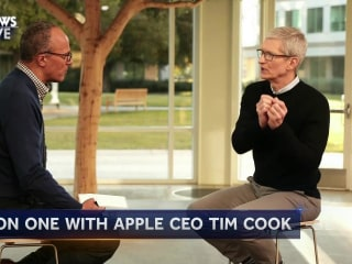 One-On-One With Tim Cook