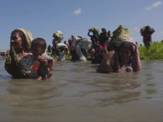 Tillerson refuses to call Rohingya migrant crisis 'genocide'