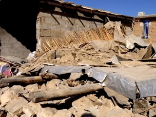Inside one Iranian village devastated by Sunday's earthquake