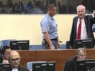 Ratko Mladic has angry outburst before war crimes conviction