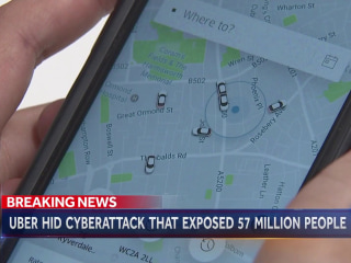 Uber covered up hack on 57 million people