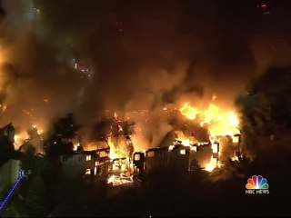 Pennsylvania senior center destroyed by massive fire