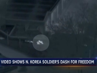 North Korean soldier makes desperate escape in border chase