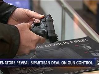 Bipartisan gun deal after Texas shooting