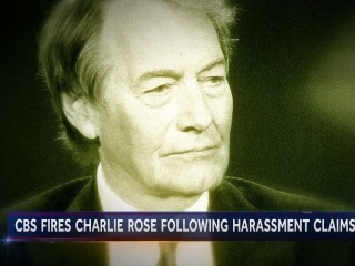 Charlie Rose out of a job after sexual misconduct allegations