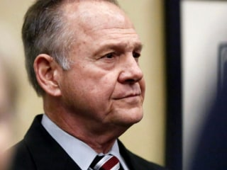 Roy Moore endorsed by Alabama pastors, but new poll shows him slipping