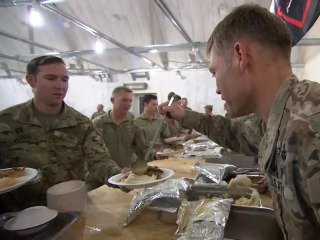 How soldiers are celebrating Thanksgiving in Afghanistan