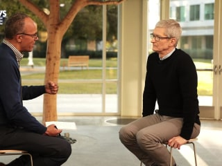 What Tim Cook Thinks Is Social Media's No.1 Issue