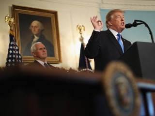 Trump: Israel announcement does not change U.S. commitment to peace process