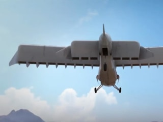 This odd-looking airplane from DARPA can take off and land vertically
