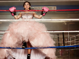 Meet two of the teens celebrating their 'quince' in the new HBO movie