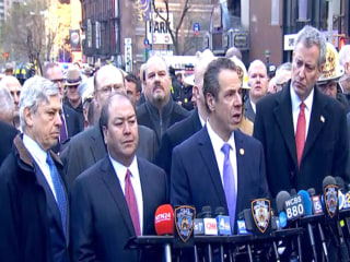Gov. Cuomo on NYC attack: 'We are a target'