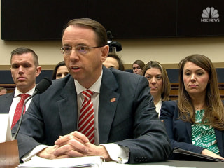 Deputy AG Rosenstein: I've seen no good cause to fire special counsel Mueller