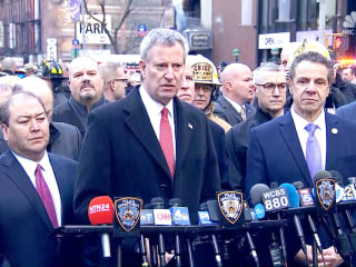 NYC Mayor Bill de Blasio: 'This was an attempted terrorist  attack'