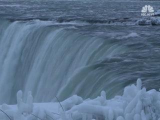 Niagara Falls turns into a 'Winter Wonderland'