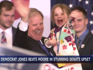 Democrat Doug Jones wins Alabama special election in stunning upset